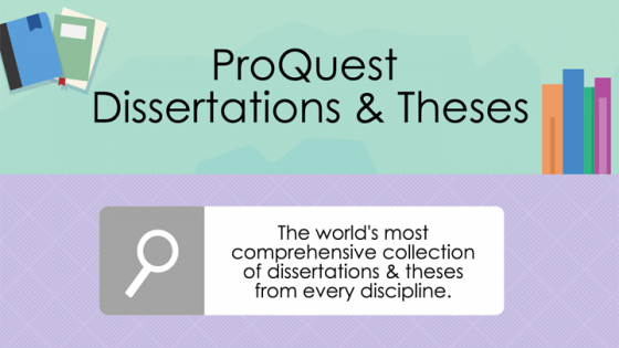proquest dissertation & theses full text