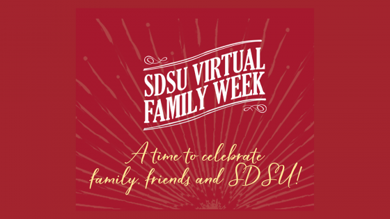 SDSU virtual family weekend