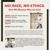 No Race, No Ethics Flyer
