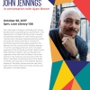 Flyer for John Jennings lecture