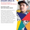 Flyer for Joaquin Junco Jr. lecture