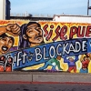 Si Se Puede protest mural