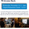 Digital Humanities @ SDSU Welcome Back