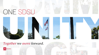 one sdsu unity together we move forward