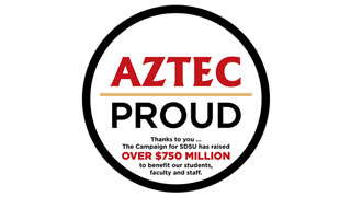aztec proud the campaign for sdsu raised over 750 million