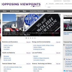 Opposing Viewpoints Topics