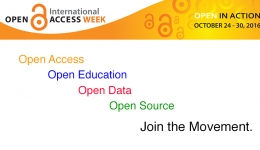 Open Access: A Part of a Larger Movement