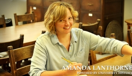 amanda lanthorne powered by university history