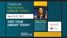 celebrate national library week 2017 julie foudy
