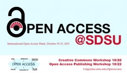 open access at sdsu