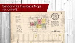 sanborn fire insurance maps now online