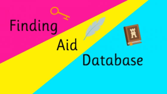 Finding aid database